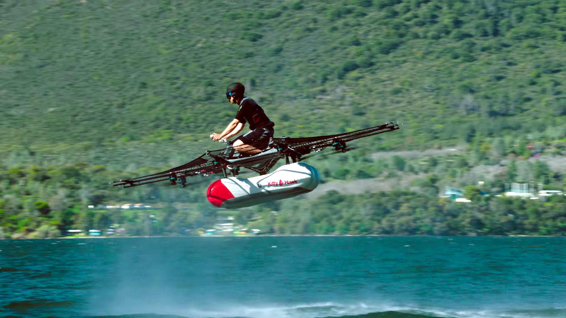 لاري بايج .. قائد ثورة تكنولوجيا السيارات الطائرة