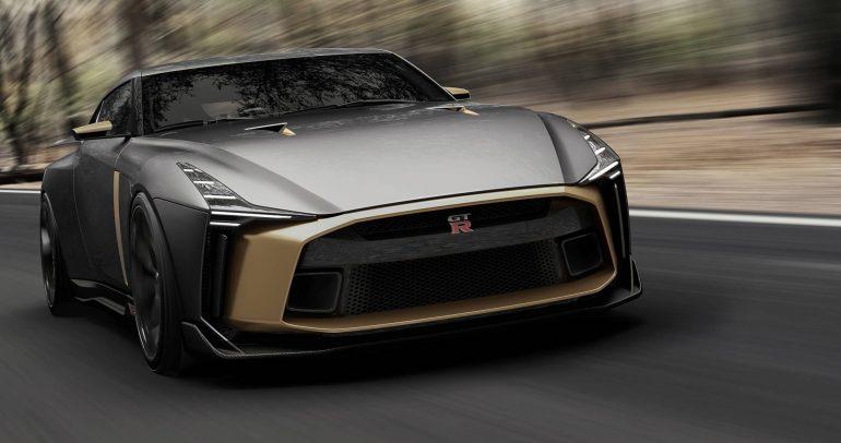 نيسان GT-R50 تعلن عن موعد ظهورها قبل الشروع في إنتاجها
