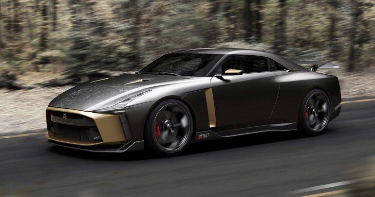 نيسان GT-R50 بسعر يصل الى 1.05 مليون دولارًا