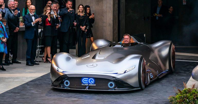 مرسيدس-بنز تكشف النقاب عن سيارتها النموذجية الكهربائية المخصصة للسباقات