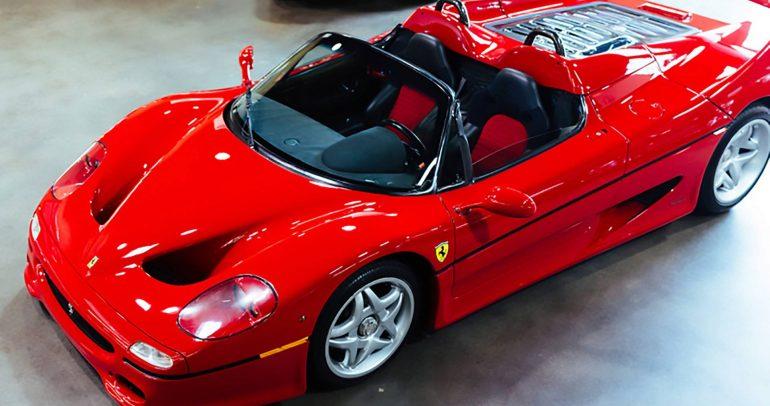 النموذج التجريبي لسيارة فيراري F50 للبيع