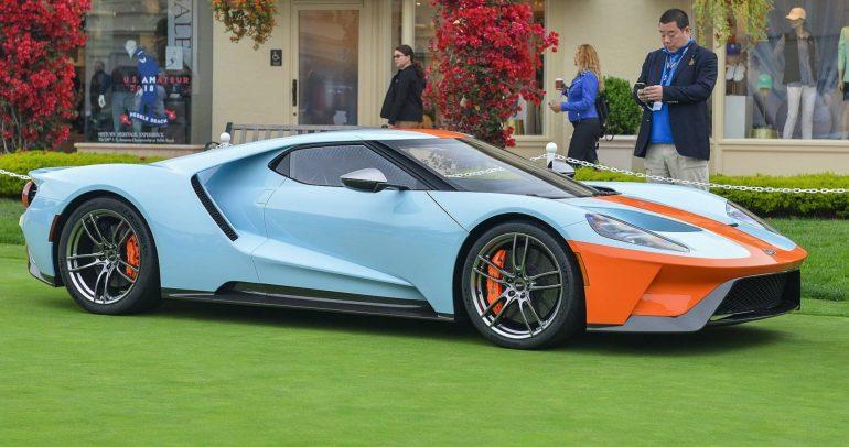 فورد GT تتوفر بلون مميز مستوحى من ماضي السباقات