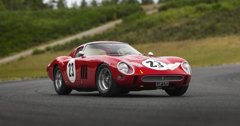 مبلغ 48 مليون دولار هو ثمن سيارة فيراري 250 GTO الخاصة ببطل العالم السابق فيل هيل