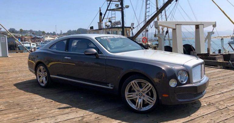 تحويل سيارة بنتلي مولسان الى كوبيه يكلف 500 ألف دولار