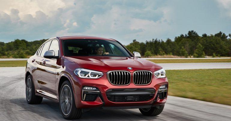 شركة محمد يوسف ناغي للسيارات تستقبل سيارة BMW X4 الجديدة كلياً في صالة عرضها