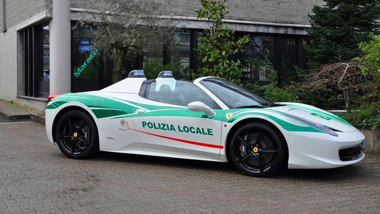 أبرز سيارات الشرطة المميزة