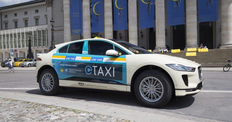 جاكوار تطلق أول أسطول سيارات الأجرة الكهربائية بالكامل في ألمانيا من مدينة ميونخ