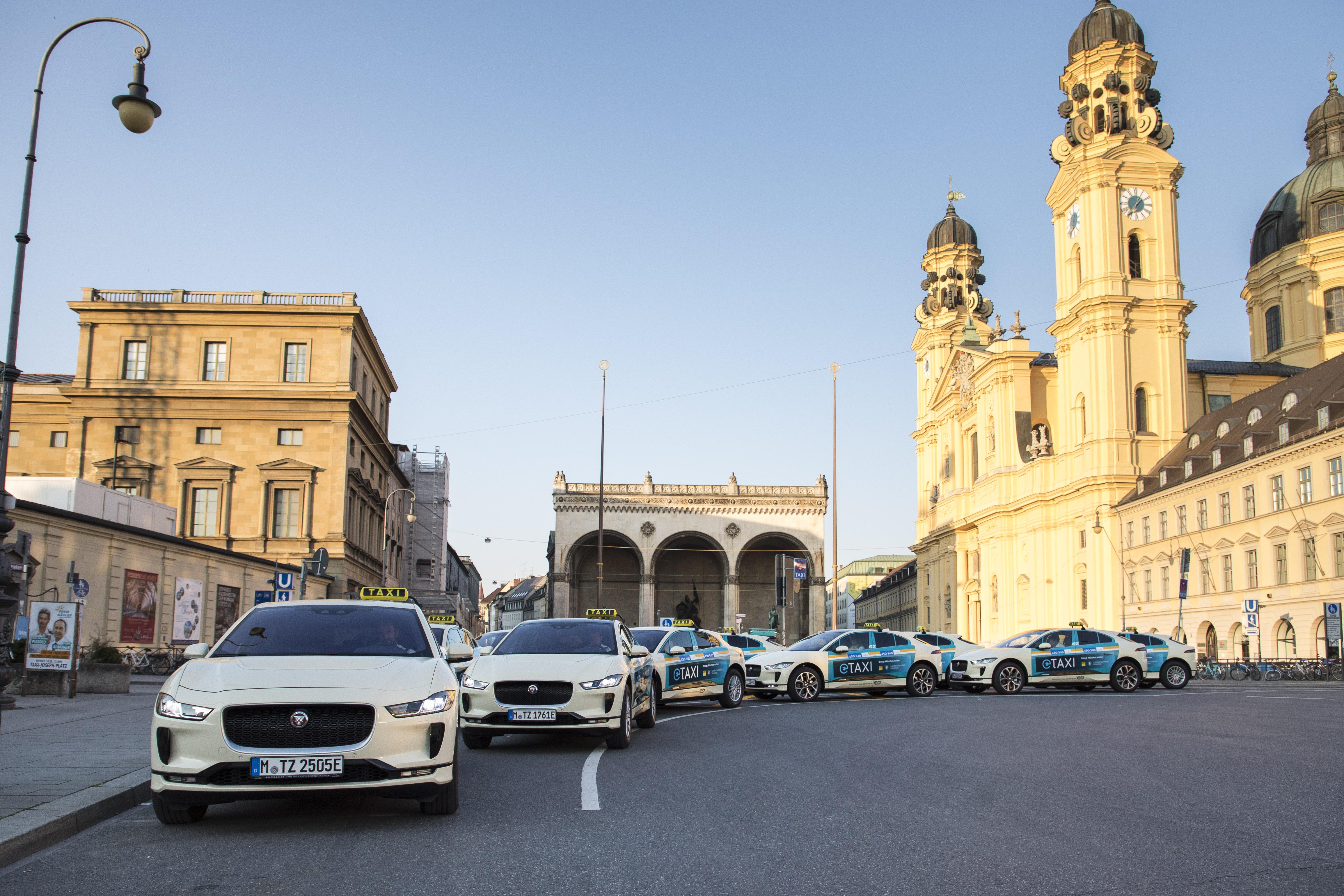 سيارات الأجرة الجديدة من جاكوار