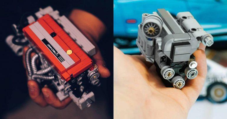 ليجو تقدم نماذج عن محركي 2JZ وLT