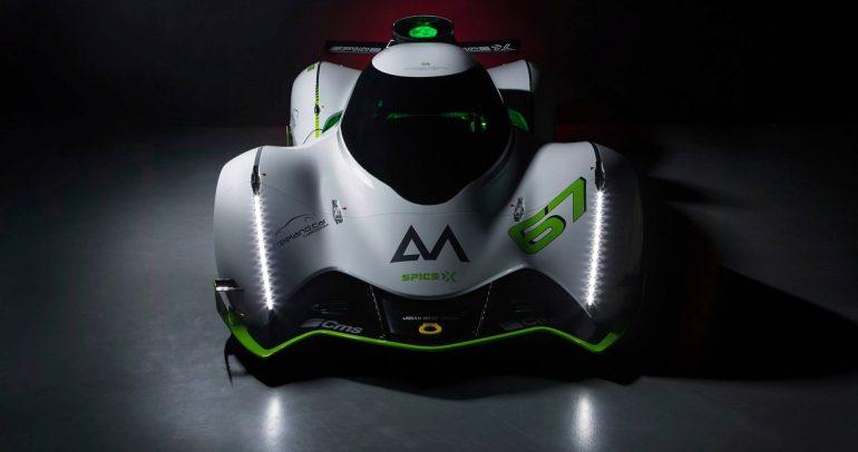 سبايس X : سيارة السباق الكهربائية المعقولة الثمن