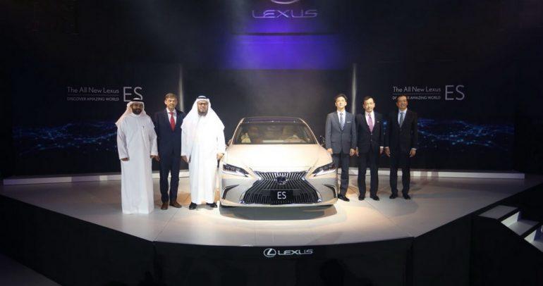إطلاق لكزس ES الجديدة 2019 بجيلها السابع في السعودية
