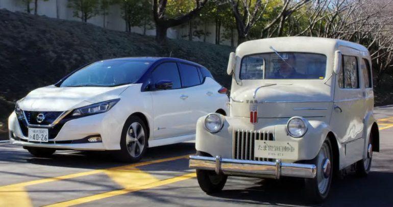 بطاريات نيسان ليف تتفوق في عالم السيارات الكهربائية .. والسبب؟