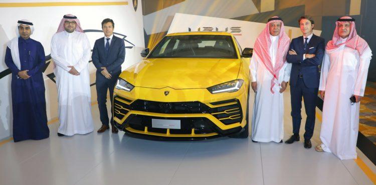 طراز لامبورغيني اوروس الجديد كليا يصل إلى السعودية