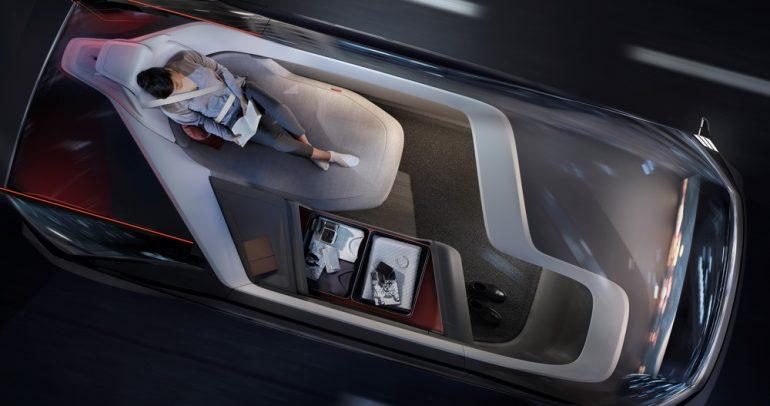 مفهوم فولفو 360c للقيادة الذاتية.. أفضل وسيلة للسفر!