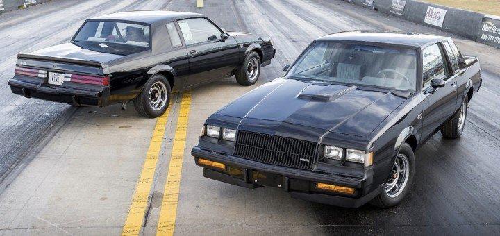 بويك جراند ناشونال : العثور على سيارتين مهجورتين في المرآب