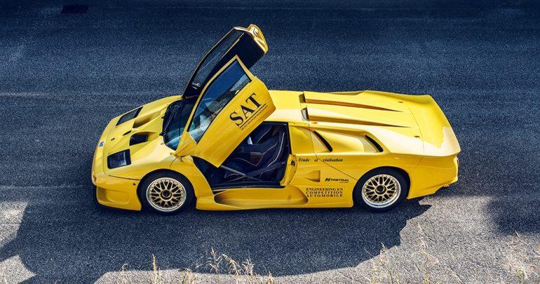 لامبورجيني ديابلو GT1 ستاردال فريدة من نوعها