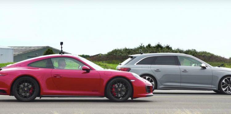 بورشه كاريرا GTS وأودي RS4