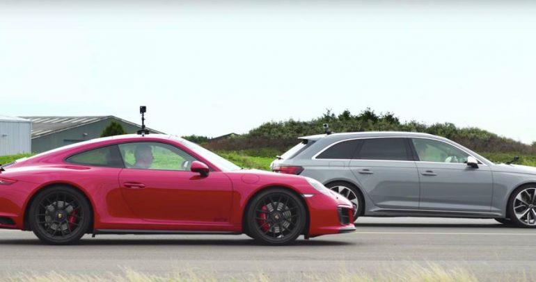 بورشه كاريرا GTS وأودي RS4 بمجموعة تحديات