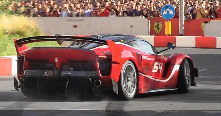 فيراري FXX-K ايفو سيارة رياضية خارقة تستعرض صوتها المذهل