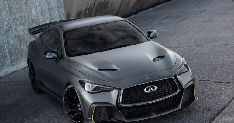 نسخة إختبارية مميزة من إنفينيتي Q60 للعرض في معرض باريس الدولي للسيارات