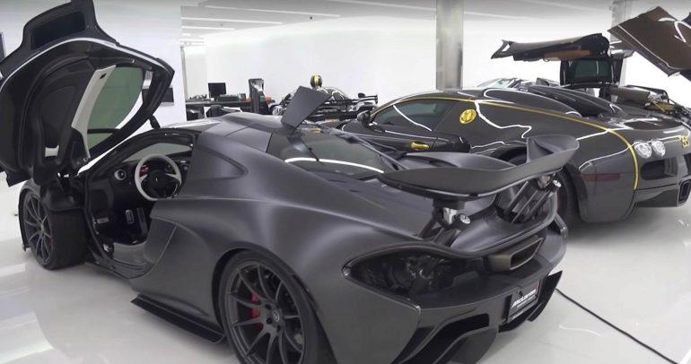 مجموعة مميزة من السيارات الخارقة لأحد المحظوظين