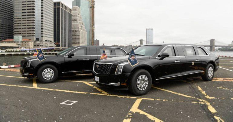 تعرف على سيارة دونالد ترامب الرئيس الأمريكي الجديدة