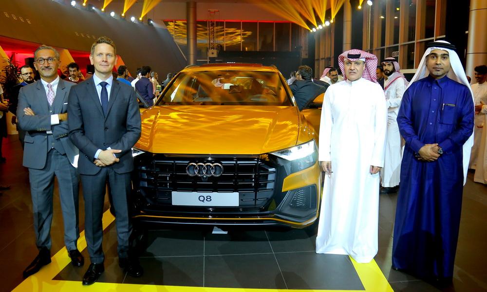 أودي Q8 الجديدة تصل إلى السعودية بسعر 335000 ريال