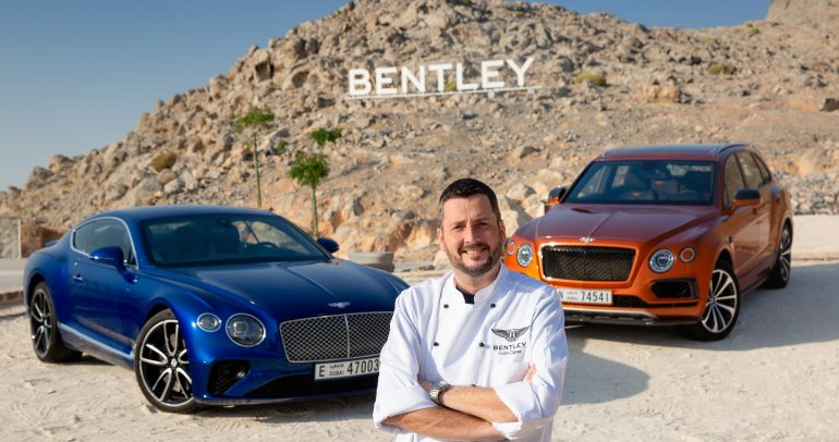 بينتلي تبتكر مفهوماً مميّزاً للضيافة عبر إنشاء أعلى مطعم فاخر في المنطقة العربية على قمّة جبل جيس