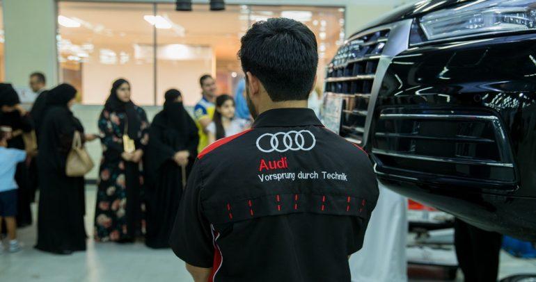 شركة ساماكو أودي تستضيف ورشة عمل للسيدات في السعودية
