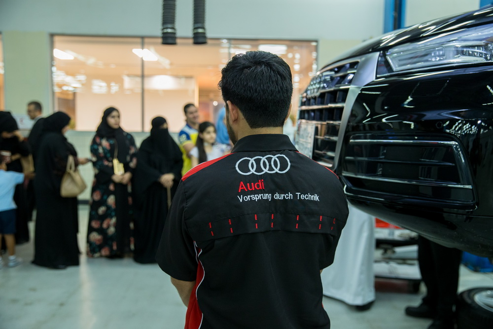 شركة ساماكو أودي تستضيفان ورشة عمل للسيدات في السعودية