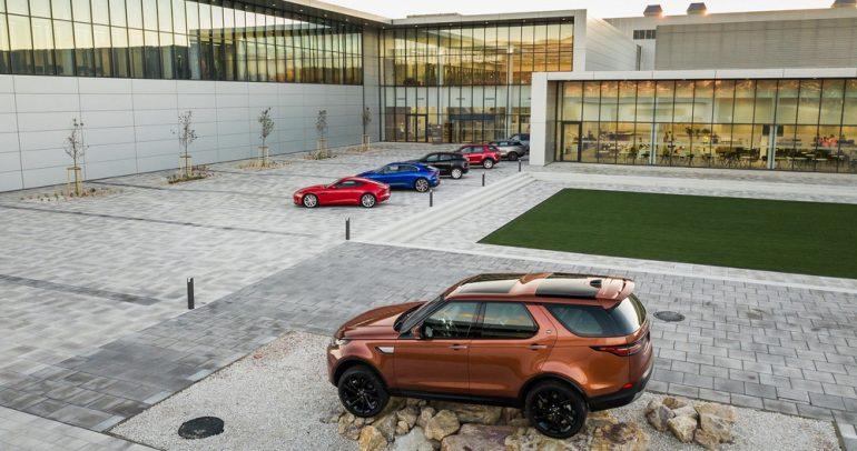 مصنع جديد لجاكوار لاند روڤر مجهز بأحدث التقنيات