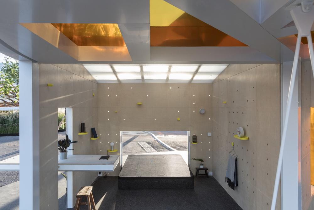 ميني تبدع في هندسة المنازل العصرية MINI LIVING Urban Cabin