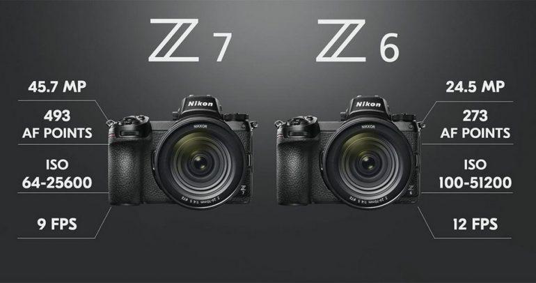 نيكون تكشف عن نوع جديد من الكاميرات بالإطار الكامل