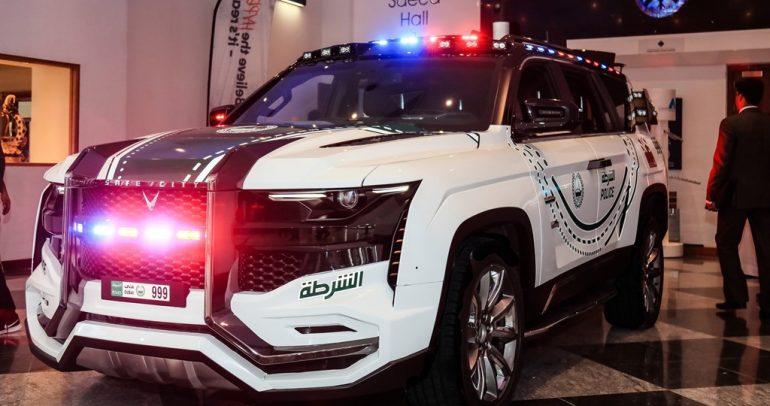 بيست باترول تنضم لأسطول شرطة دبي