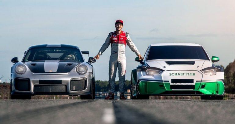 اودي RS3 كهربائية تتفوق على لامبورجيني هوراكان بيرفورمانتي وبورشه 911 GT2RS