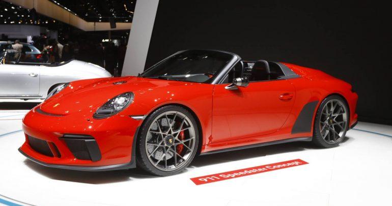 بورشه تؤكد نيتها على إنتاج 911 سبيدستر بعدد محدود