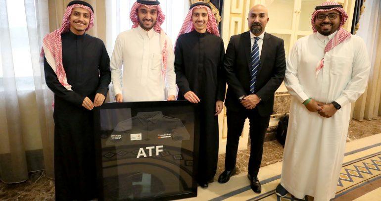 لقاء بين رئيس الهيئة العامة للرياضة وفريق هنكوك السعودي للسباقات