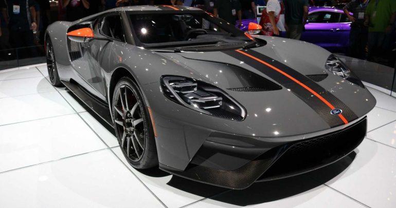 فورد GT بالإصدار الكربوني للمشاركة في معرض سيما