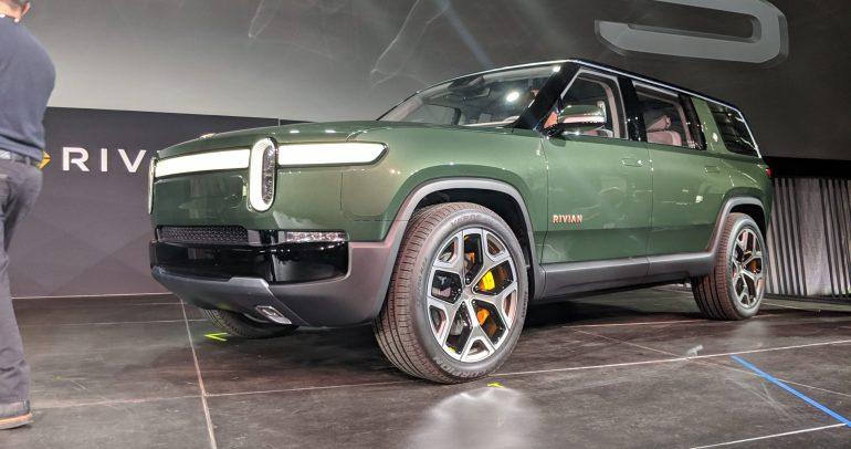 ريفيان R1S سيارة الدفع الرباعي الكهربائية القادمة