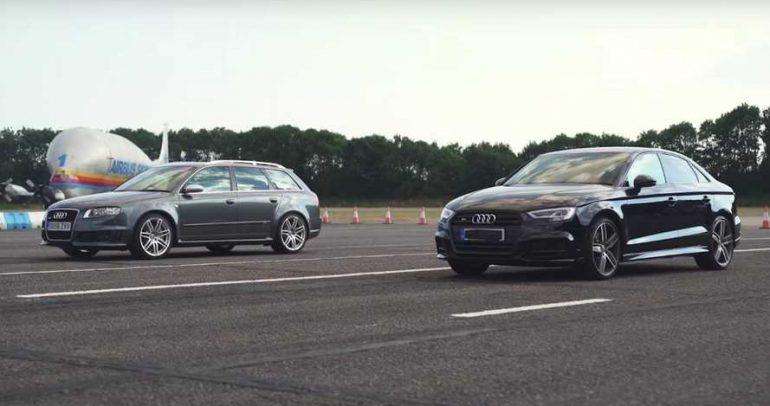 أودي S3 بمواجهة RS4 لإثبات الفرق في صناعة السيارات ماضيا وحاضرا