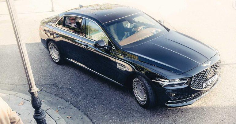 جينيسيس G90 الجديدة تنطلق رسميا في معرض لوس أنجلوس للسيارات