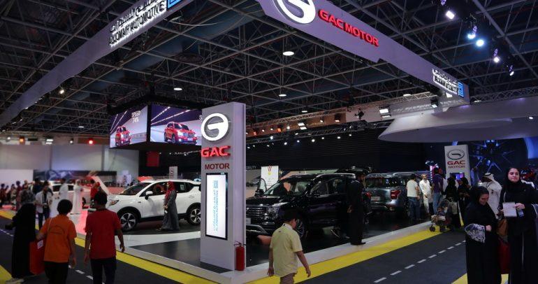 سيارات جي أيه سي موتور تظهر للمرة الأولى في معرض جدة