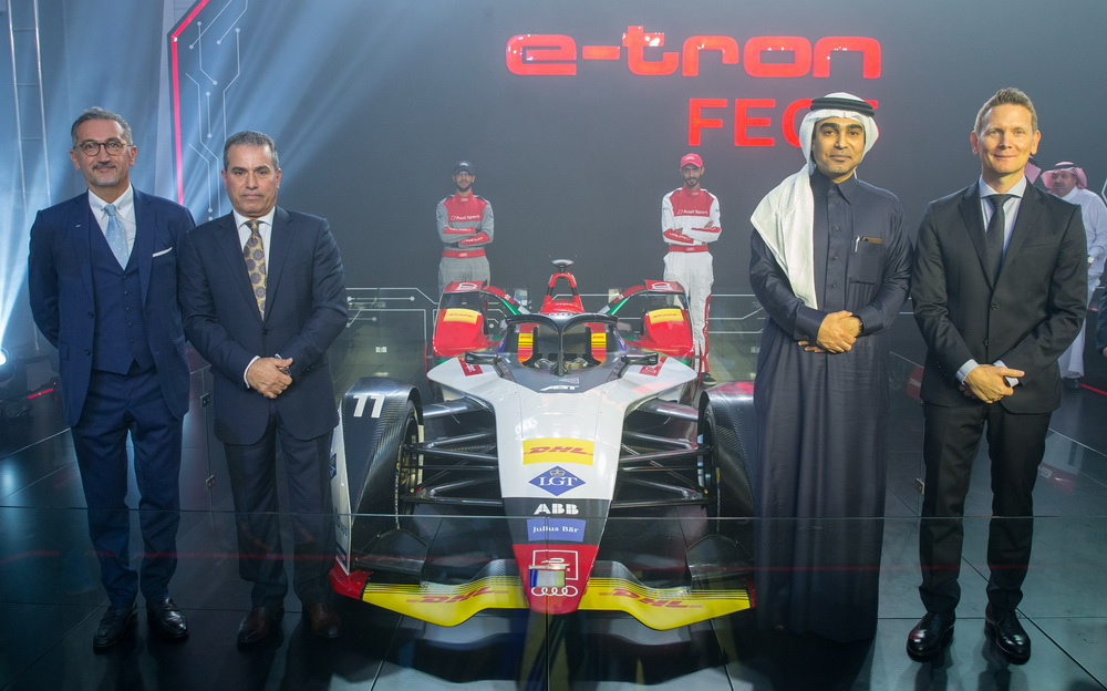 قسم رياضي متكامل لعشاق سيارات أودي في الرياض