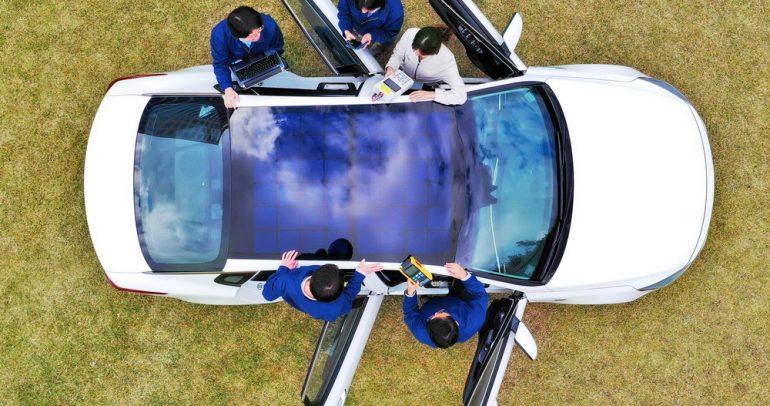 نظام الشحن الكهربائي بالطاقة الشمسية من هيونداي.. وأنواعه