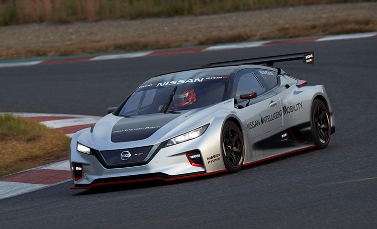 نيسان ليف نيسمو آر سي سيارة سباق كهربائية بدفع رباعي