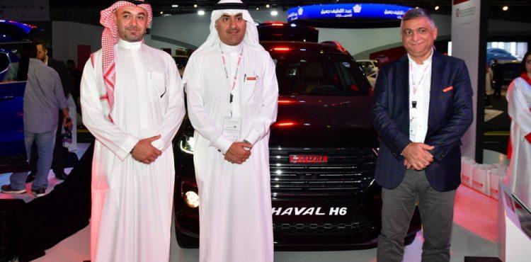 هافال إتش 6 تظهر في معرض السيارات السعودي الدولي 2018
