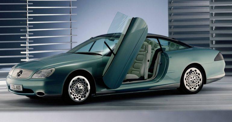 مرسيدس-بنز F200 الاختبارية التي عرضت التصور المستقبلي للسيارات