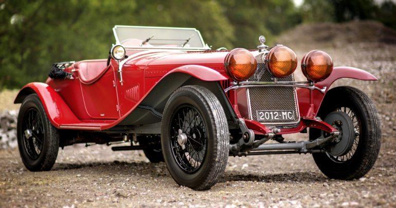 ألفا روميو 6C الكلاسيكية السيارة التي تألقت قبل ظهور فيراري
