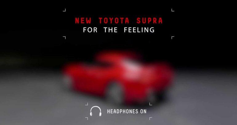 تويوتا سوبرا الجديدة تستعرض صوت محركها في مقطع فيديو مسرب