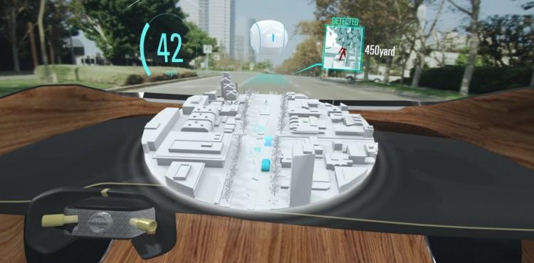 تكنولوجيا نيسان تساعد السائقين على رؤية اللامرئي!